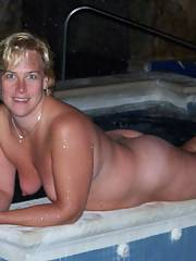 Heres i few i forgot to submit of my naked wifey on our last vacation.  she had so much joy and enjoyed exposing off her body