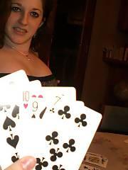 Playing strip poker