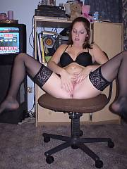 Oh yeah, shes sloppy and enjoys to get dressed up in hot lingerie for me.  shes always wanting to know how to turn me on more