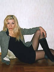 My hot blondie girlfriend tamo - she is enjoy of my life and the apple of my eye... - thats what we all say in the beginning dude!!!