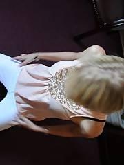 Hot blondie mom