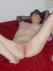 Young goth whore pam nude and looking for penis - she loves to be pounded to point of her crying and screaming...