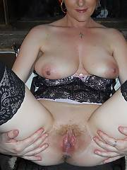 Linda was a first time model and had double d breasts.  she got worked up and asked to get licked during the shoot. she came twice