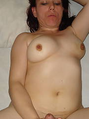 Unshaved pussy whore wife - she is hot and horny enjoys having her pussy and backdoor filled with cum