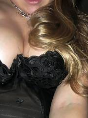 She was curvy with natural round tits that she loved to show off. she is a natural blond with a tiny bush that she keeps shaved and trimmed, and she enjoys to experiment--she lwould rather give a tittyfuck than a handjob, and she wants sperm on her face i