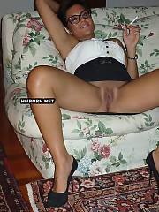 Secretary invited chief to her place, undressed and teased him with her juicy twat wishing to fuck, The gave him amazing blowjob and drilled hard till he cummed deep in her vagina - amateur porn photos
