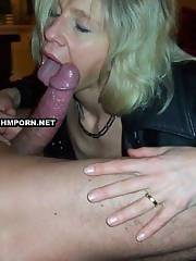 Older women that love to suck cock