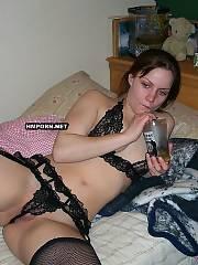 Pretty gf weared her greatest lingerie