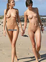 Amateur nudist and
