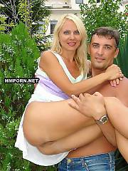 Amateur xxx - hot eastern european couple having crazy amateur sex, blond wifey loves hubby and lets him drill every hole of her hot body