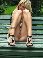 Charming blondie