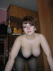 Private sex - busty wifey and her wedding photo, watch curvy busty wifey spreading legs wide to show her pink big lipped cunt closeup