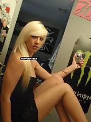 Nasty blond girlie