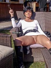 Gals next-door wear no panties upskirt and flash beautiful cunts accidentally in public