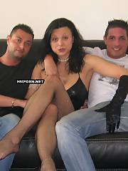 Amateur xxx - citroen cars showroom secretary participating in other group sex party with her coworkers and they tripple fuck her butthole, vaginal crack and mouth together and same time