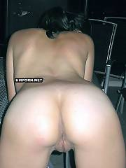 Young wifey spreads legs as wide as possible when getting banged hard in her vagina and backside on private porn pictures