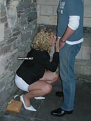 Private porn - mature blond housewife submissively blowing and banging husband, having gangbang with strangers at swinger sex parties, trying rectal sex and more!