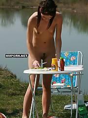 Cute shots of naked