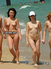 Sweet beach girls walking nude at the sea and tease strangers by their sexy fuckable bodies, Real nudist and naturist beauty chicks will show you sweet pussies and round butts between wide spreaded legs