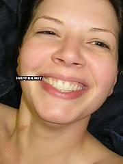 Happy smiling babe