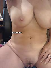Boobed mature housewife