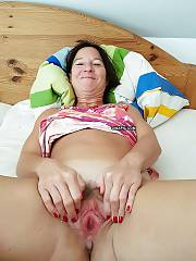 Black haired mature