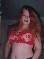 Redhead Lanie in