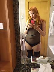 Bbw red-haired slattern, loves to fuck