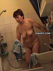German granny nude