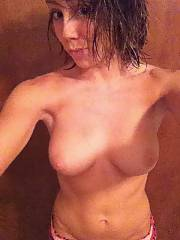 Skinny 22 years old chick yvonne shows off her body, man excellent fuckin breasts