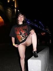 Naughty ass wife pissing in public. manowar? seriously? get a nicer band, bitch.