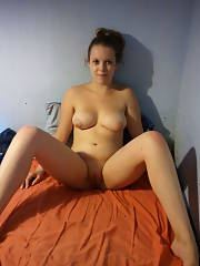 Took these photos of my exgf about a year ago. i took her virginity and after we broke up she slept with 2 lads within a week! she absolutly loved my cock and loved foolin around