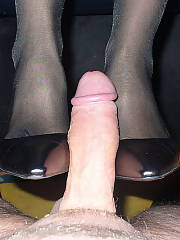 Foot job and then