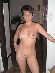 Posing naked and