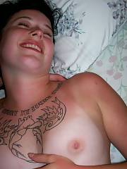 Tattooed tramp likes