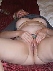 Wife strips for