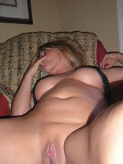 Lazy nudist MILF