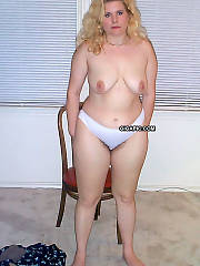 Curvy joy blonde having joy and more