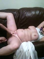My wifey and i love playing with this dirty chubby whore, who has a little daughter already