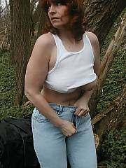 She got so hot as she was getting nude out on her hike that she started toying her pussy as soon as we got home