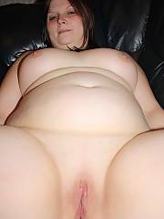 My fat wife dildoing