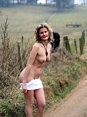 Homemade pics naked girl on motorcycle