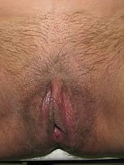 Hairy pussy on this