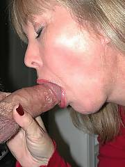 Granny getting nude and servicing some penis with her dentured mouth