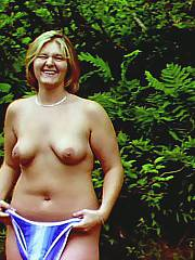 The gorgeous ole days with my wife, constantly flashing her pussy made her giggle every time