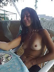 Older chick does a superb job of modelling my cum, she was always so smiley just the kind of bitch you want to meet on vacation