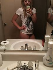 My ex-gf katrina loves camera and used to send me photos like this. we still talk every once and awhile (she wants to fuck) but i cant do it anymore shes crazy.