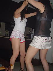 Dumb chicks getting drunk and grinding on each other, i have lots more pics from that night if u dudes want to watch