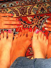 I luv to hear your opinion about my gf....she has a cool feet too...