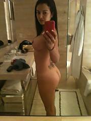 Latina MILF shows off her tight body for her new husband to see